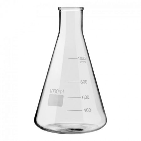 nauwmonds Erlenmeyer kolf 1000 ml / 1 liter